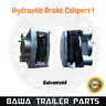 Hydraulic Brake Calipers Galvanised with bushes and Brake pads! Trailer Parts