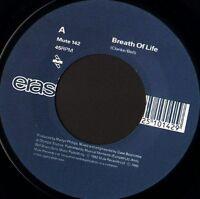 "ERASURE breath of life 7"" WS VG/- noc uk mute MUTE 142"
