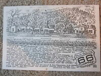 66 Motel in Tulsa OK by the Late Bob Waldmire Artist Route 66 Post card,Quik s&h