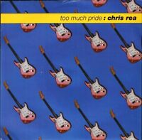 "CHRIS REA too much pridegone fishing (live) YZ 732 uk east west 7"" PS EX/EX"