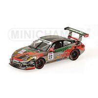 MINICHAMPS PM400097922 PORSCHE 911 GT3 N.22 ASIAN FESTIVAL 2009 1:43 DIE CAST