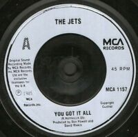 "THE JETS you got it all 7"" WS EX/"