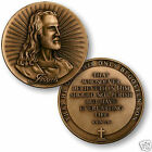 """JESUS HIS ONLY BEGOTTEN SON BRONZE USA MADE 1.75"""" CHALLENGE COIN"""
