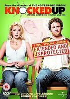 Knocked Up (DVD, 2007, 2-Disc Set)discs only,free postage uk