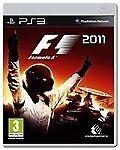 F1 2011 (Sony PlayStation 3, 2011)free postage uk