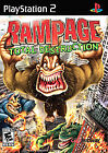 Rampage: Total Destruction (Sony PlayStation 2, 2006) Complete