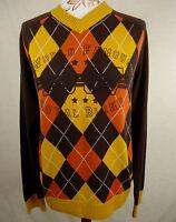 Edler BLEND Strick Pullover, Pulli Baumwolle mehrfarbig Gr. M = 40/42 Wie neu !!