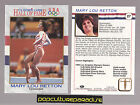 MARY LOU RETTON Gymnastics 1991 Impel Olympics Hall of Fame CARD