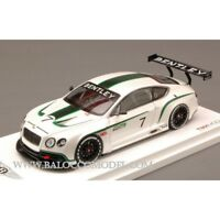 MINIATURES TSM134301 BENTLEY CONTINENTAL GT3 2012 CONCEPT RACE CAR PEARL 1:43