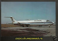 ALTAIR AIRLINES McDonnell Douglas DC9 Airplane POSTCARD
