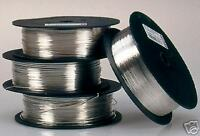 0.6 mm  SILVER PLATED CRAFT/ JEWELLERY WIRE 1kg  = 410 metres