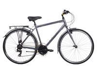 INDIGO REGENCY, MENS HYBRID BIKE, TREKKING BIKE, COMMUTE BICYCLE, RRP £339.99