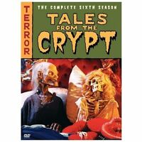 TALES FROM THE CRYPT COMPLETE SEASON 6 New Sealed 3 DVD Set