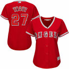 Mike Trout Majestic Los Angeles Angels of Anaheim Baseball Jersey - MLB