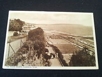 Old IOW Isle of Wight Postcard The Tennis Courts Shanklin I.O.W