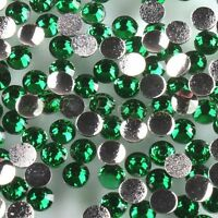 1500x New Charms Dark Green Rhinestone Resin 3MM Flatback 12SS Beads Findings L