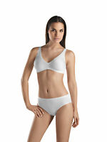 Hanro Smooth Touch Soft Bra, 3 pack, cotton on the inside