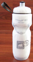 POLAR INSULATED BICYCLE BIKE CYCLING WATER BOTTLE WHITE 20oz