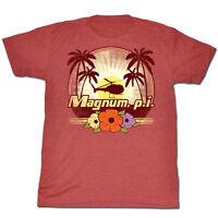 American Classics Magnum Pi  Flowers T Shirt