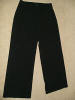 Ladies The Limited Stretch Cropped Black Pants Slacks Size 8