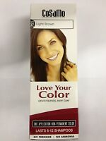 CoSaMo Love Your Color 755 Light Brown (Comparable To Loving Care) - 6 Pack