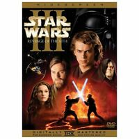 Star Wars: Episode III - Revenge of the Sith (Widescreen Edition) DVD New