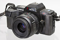 Olympus OM77AF 35mm SLR with Olympus 35-70mm f/3.5-4.5 Lens for Parts or Repair