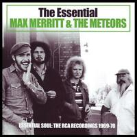 MAX MERRITT & THE METEORS (2 CD) THE ESSENTIAL ~ 60's / 70's GREATEST HITS *NEW*