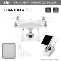 DJI Phantom 4 PROFESSIONAL GPS QuadCopter Drone 4K 20 Megapixel HD Camera - NEW
