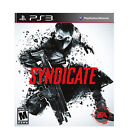 SYNDICATE brand new video game for Play Station 3 PlayStation 3