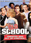Old School (DVD, 2003, Full Frame Unrated Version)