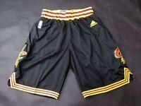 Cleveland Cavs Basketball Shorts NBA Pants Men's NWT Stitched Black / White