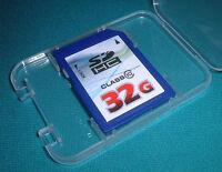 32GB Memory Card For Nikon D-SLR D5300 D5100 D600 Camera 32GIG SD SDHC Class 10