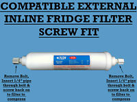 Fridge Water Filter Compat. Samsung DA29-10105J , WSF100 , HAFEX EXP,T33 , Screw