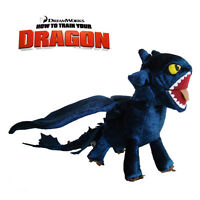 Toothless Night Fury How To Train Your Dragon Figure Plush Toy Collectible Doll