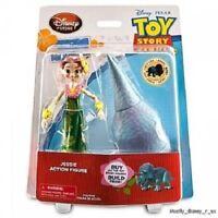 NEW Disney Store Toy Story Hawaiian Vacation Jessie Action Figure Build Trixie