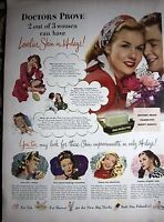 1947 Palmolive Doctors Prove Lovelier Skin in 14 Days Soap Ad