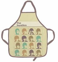 THE BEATLES HARD DAYS NIGHT RETRO KITCHEN APRON CHEF OFFICIAL NEW WITH TAGS