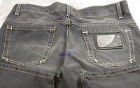 $750 Love Moschino Men Jeans 32 ZigZag Stitch Business Casual Stylish Gift NEW