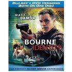 The Bourne Identity Blu-ray + DVD New & Sealed Matt Damon