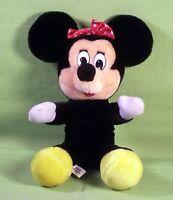 "Disney's Minnie Mouse Disneyland/Walt Disney World Plush Stuffed Toy Doll 10"""