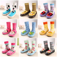 Cute Baby Kids Anti-slip Crawling Socks Shoes Toddler Slipper Boots 0-39 Months
