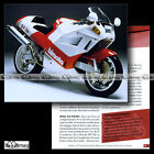 #CMP.071 BIMOTA TESI 1D 1990 Fiche Moto