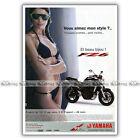 PUB YAMAHA FZ6 600 - Ad / Publicité Moto de 2005