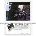 PUB SUZUKI SVF 650 GLADIUS SVF650 SV-F - Ad / Publicité Moto de 2009 #1