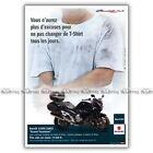 PUB SUZUKI GSF 1250 BANDIT S 1250S - Ad / Publicité Moto de 2008