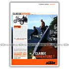 PUB KTM 950 ADVENTURE & 'Orange Day' - Ad / Publicité Moto de 2004