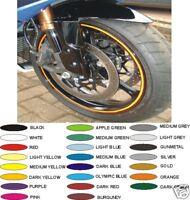 WHITE 6mm Wheel Rim Tapes Fit any Motorcycle Motorbike Car Alloy Motor Bike