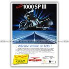 PUB GUZZI 1000 SP III - Original Advert / Publicité Moto de 1990