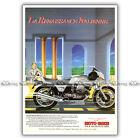 PUB GUZZI 850 LE MANS III - Original Advert / Publicité Moto de 1983